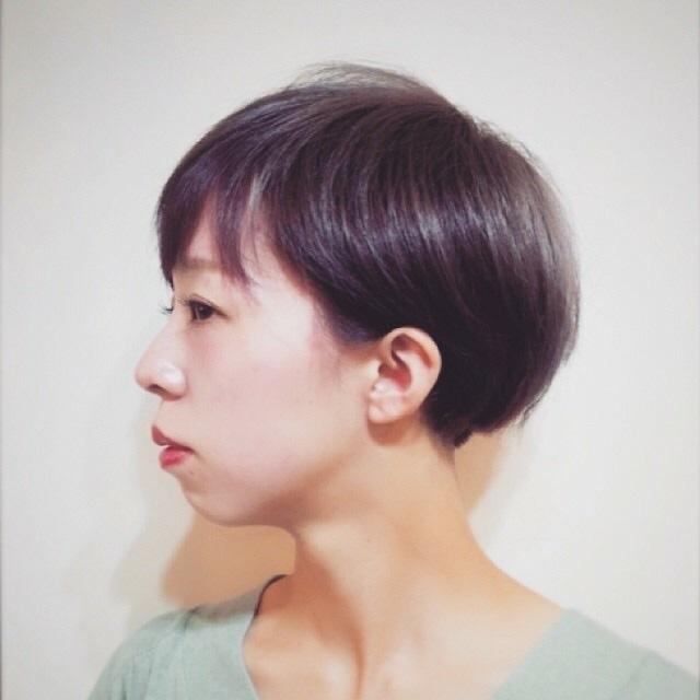 compass taichiさんのヘアスタイルの写真。テーマは『グラデーションカラー、アッシュグレー、ヘアスタイル、夏オススメ、ボブ、ネイル、パーマ、くせ毛風、メイク、mode、ショートマッシュ、ショートボブ』