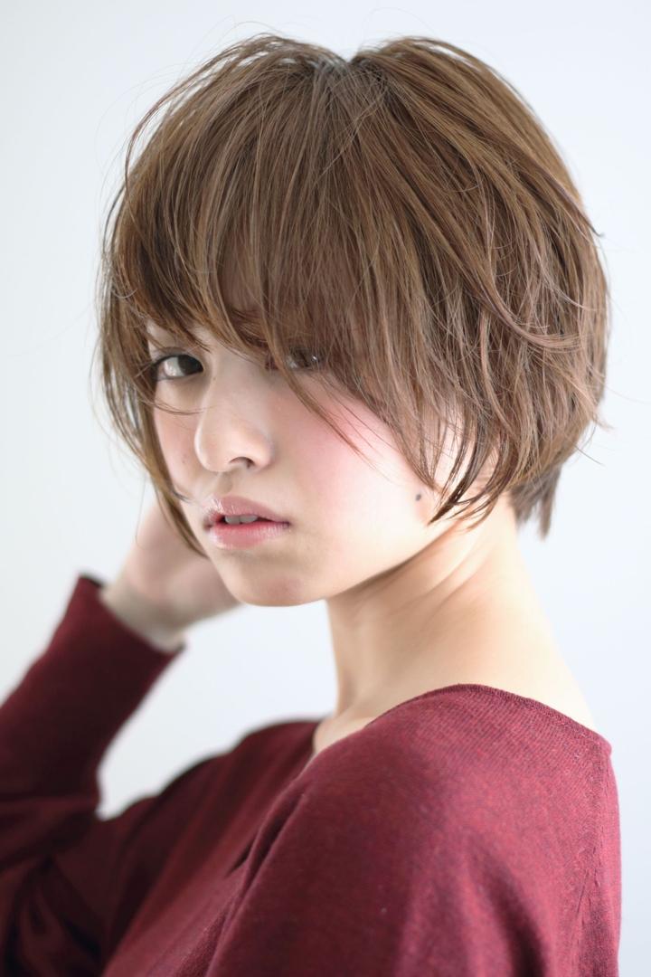 takayukiさんのヘアスタイルの写真。テーマは『秋カラー、おフェロ、パーマ、ショート、ショートボブ』