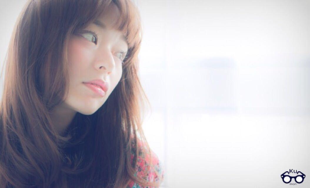 Hironori Kumonさんのヘアスタイルの写真。テーマは『ベビーバング、レイヤー、ロング、セミロング、クモコレ、公文スタイル、公文啓敬、表参道美容室、美容師カメラ、おフェロ』