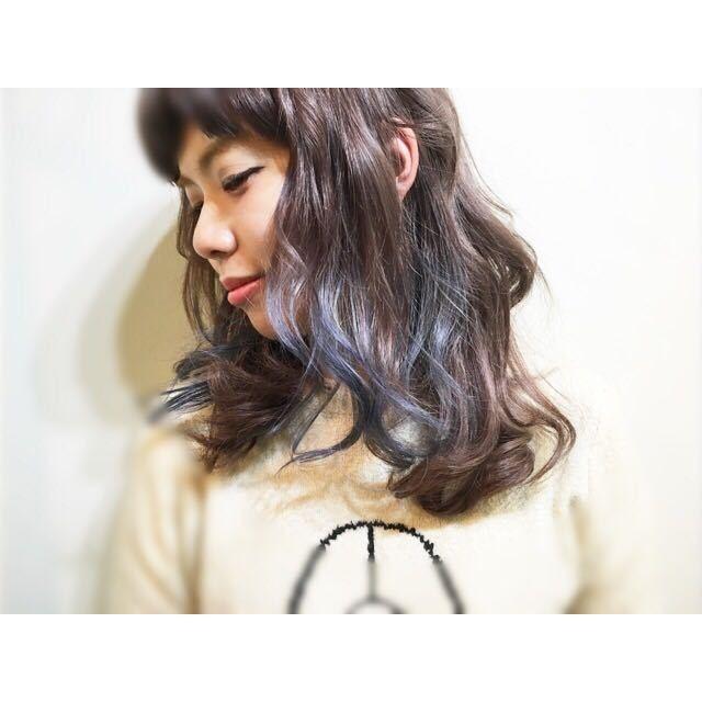 compass taichiさんのヘアスタイルの写真。テーマは『エフォートレス、ボブ、ショート、ベビーバング、レイヤー、グラデーションカラー』