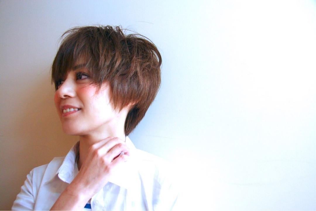 今井洋人さんのヘアスタイルの写真。テーマは『エフォートレス、冬ネイル、ウエディング、ボブ、ショート、ハーフアップ、ベビーバング、外国人風、今井洋人、おフェロ』