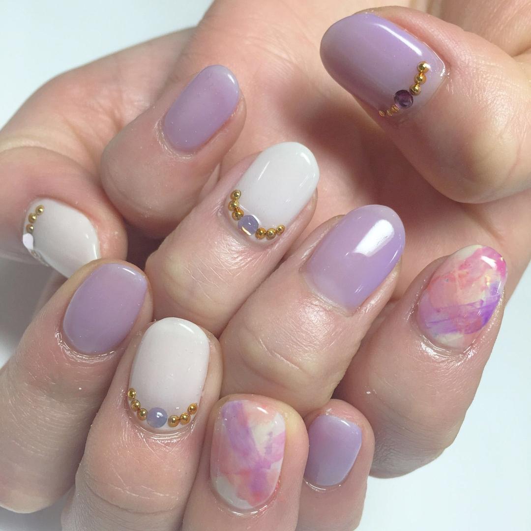 Miki Hondaさんのネイルデザインの写真。テーマは『nail、nails、nailist、nailart、nailsalon、tokyo、shibuya、fashion、life、like、love、instagood、instadaily、follow、followme、me、happy、instanail、ネイル、ネイリスト、ネイルアート、ネイルデザイン、美甲、pink、spring、春ネイル、大理石、透け感』