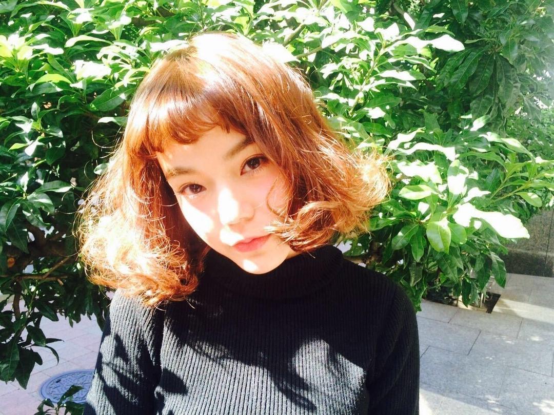 Kenji suzuki Tierraさんのヘアスタイルの写真。テーマは『春ヘア、ショートバング、ボブスタイル、ゆるふわパーマ、tierraharajuku』