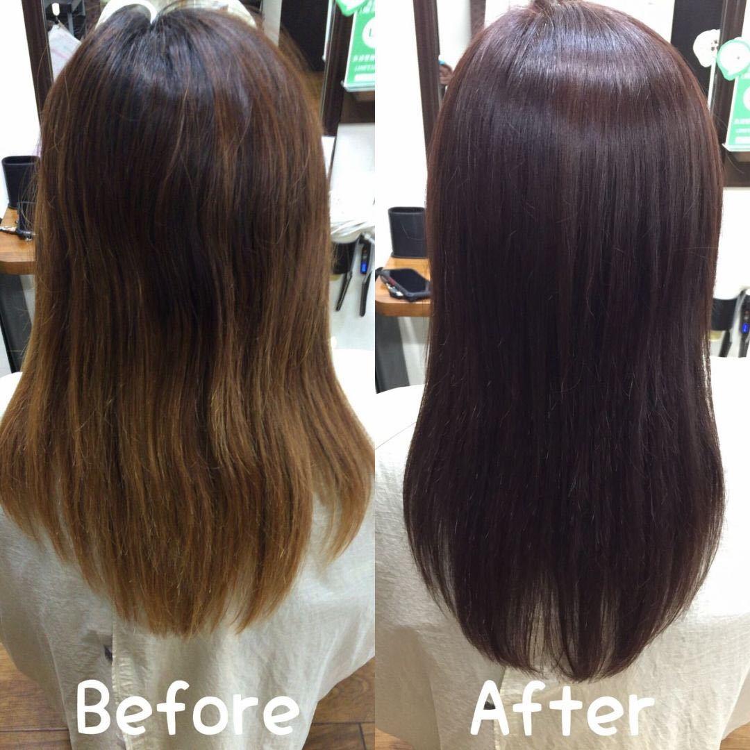 橋本 諒大さんのヘアスタイルの写真。テーマは『グラデーションカラー、グラデーション、ブリーチ、ブリーチカラー、ヘアカラー、ビフォーアフター、ピンク』