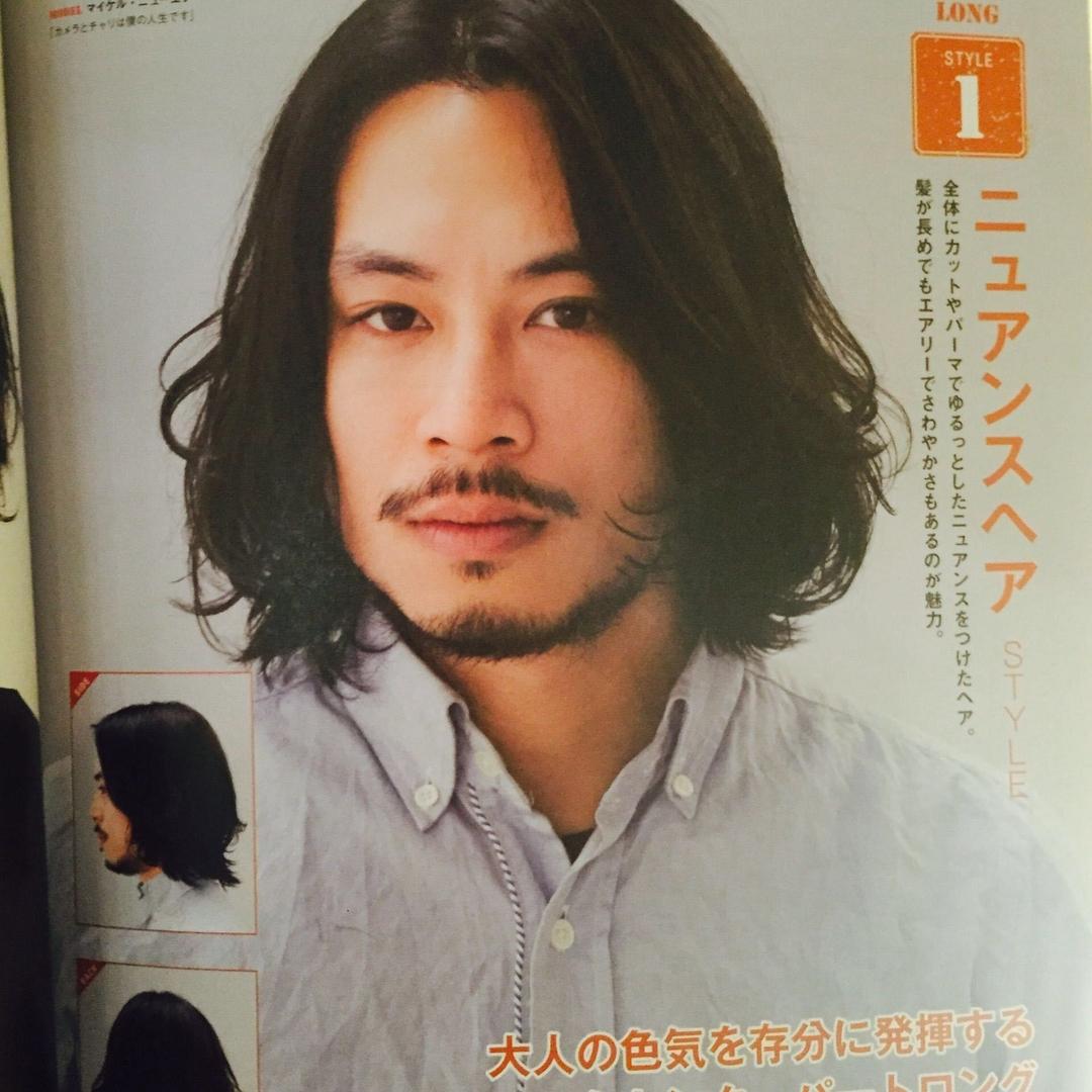 Kenji suzuki Tierraさんのヘアスタイルの写真。テーマは『メンズ、メンズロング、tierraharajuku』