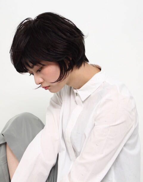 栗原貴史さんのヘアスタイルの写真。テーマは『秋カラー、アッシュグレージュ、パーマ、ショート』