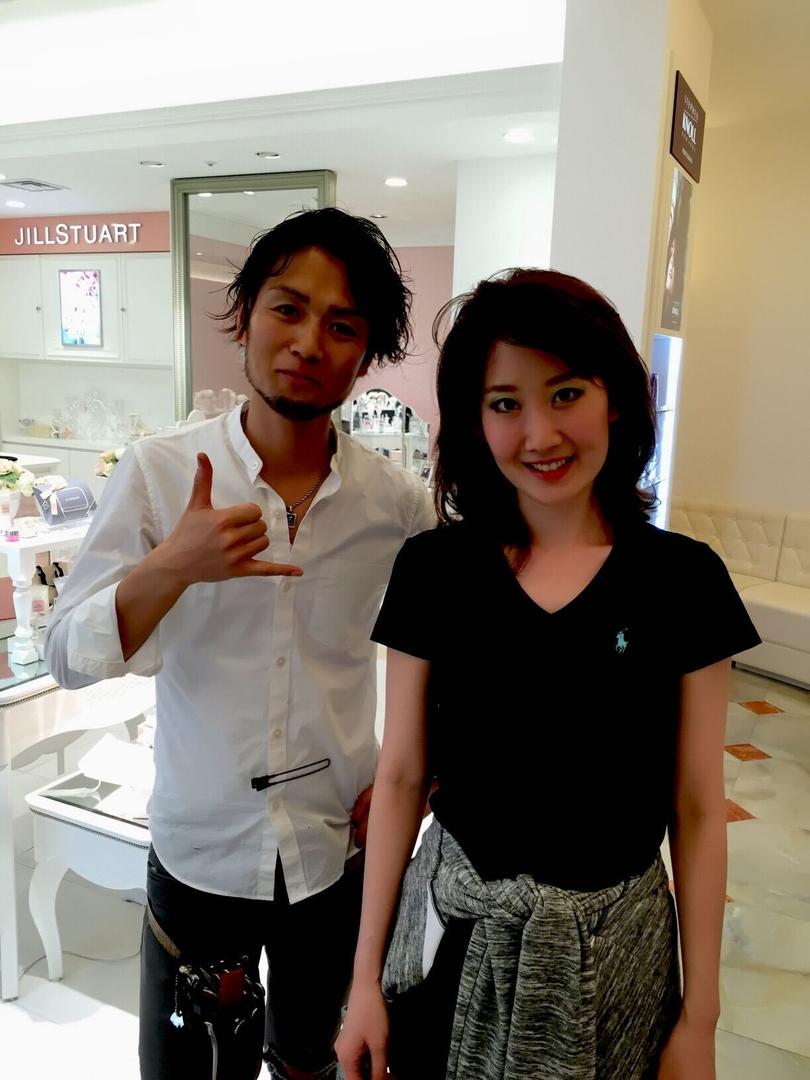 薄井 光弘さんのヘアスタイルの写真。