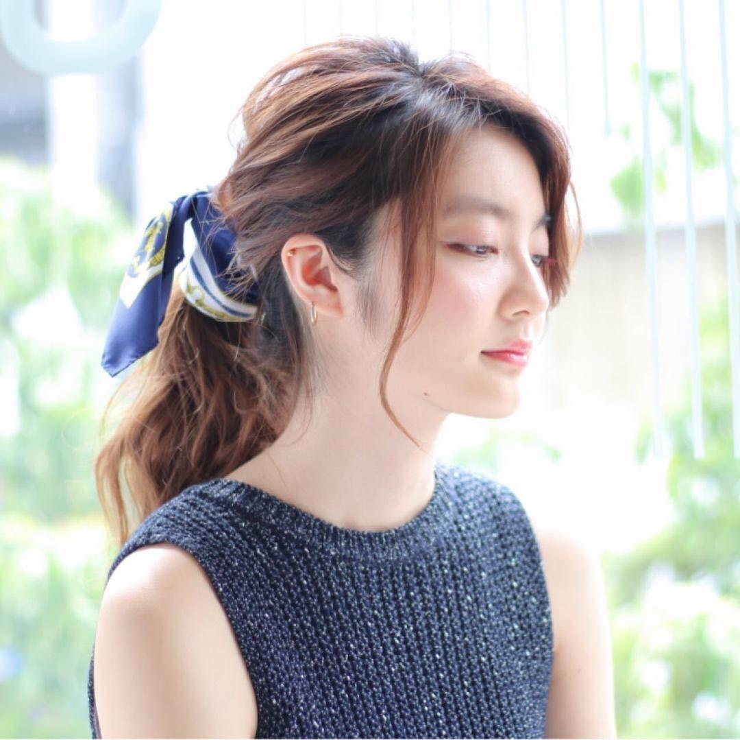 takayukiさんのヘアスタイルの写真。テーマは『ロング、夏ヘア、ナチュラル、メイク、透明感、ヘアスタイル、抜け感、ヘアアレンジ』