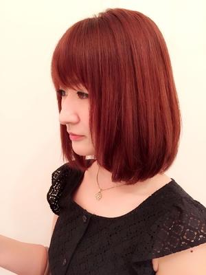 秋にオススメマルサラカラー! #表参道 #秋カラー #マルサラ