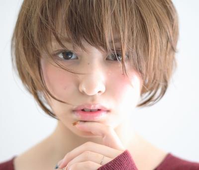 #おフェロ #秋カラー #ショート #パーマ #くせ毛風