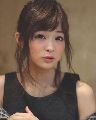 ブログhttp://takayuki-abe.blog.jp 予約http://beauty.hotpepper.jp/smartphone/slnH000047457/stylist/T000295056/ #おフェロ #ハーフアップ #秋カラー #ヘアアレンジ #お団子