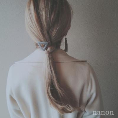 三つ編みアレンジ✧ uraura hair  #三つ編み #ヘアアレンジ