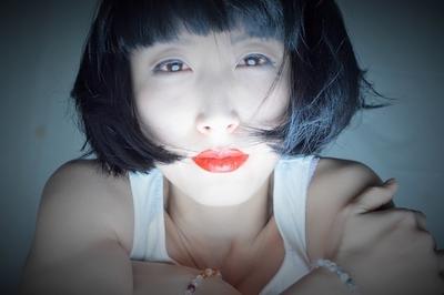 1 Room Waiting for Spring /lip Conceptphotograph #portraitphotography ブログ更新しました。  #ボブ#黒髪ボブ#エフォートレス