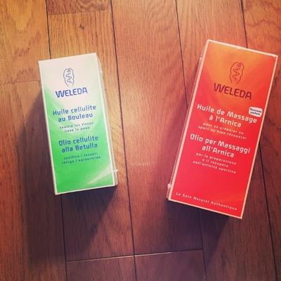 #WELEDA#ヴェレダ#オイル追加 お好きなオイルを選んで全身マッサージします😘✨