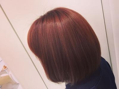 カッパーORANGE..︎外国人風なヘア色白際立て間違いないなし️️
