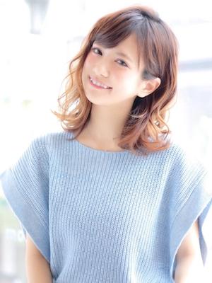 予約http://beauty.hotpepper.jp/smartphone/slnH000047457/stylist/T000295056/  #ミディアム #春ヘア #ナチュラル #メイク #透明感 #ヘアスタイル  #抜け感  #外ハネミックス