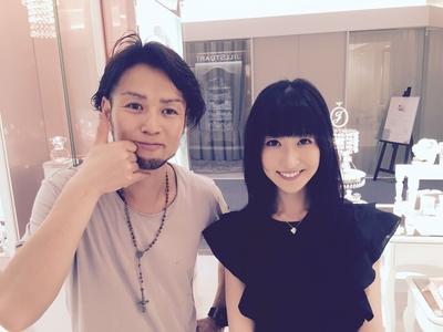 人気ブロガー&モデルの土屋香織さんご来店(^-^) http://lineblog.me/tsuchiyakaori/  いつも、ありがとうございます
