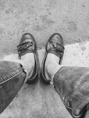 本日はラフルローレンの靴。  お気に入り #Today's Trend