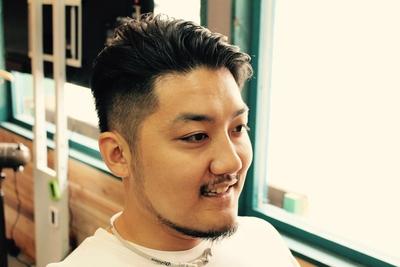 サイドは2ブロック。耳のラインから刈り上げ。kazeサイドバック完成です!!  鹿児島の深夜遅くまで営業している美容室kaze  #ショート #メンズカット #鹿児島 #美容室 #男性 #スタイル #短髪 #男性ショート
