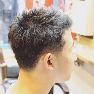 夏ジメジメも解消!!爽やかなハチのくせ部分を多めに量を調節!!長持ちカットの完成です。  鹿児島の深夜遅くまで営業している美容室kaze  #ショート #メンズカット #鹿児島 #美容室 #男性 #スタイル #短髪 #男性ショート
