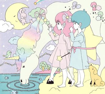 \七夕ネイル☆彡/織姫と彦星が出逢うロマンチックにきらめく指先