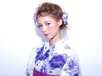 【ボブ~ロングまで】浴衣に似合うヘアアレンジ・髪型2016最新版