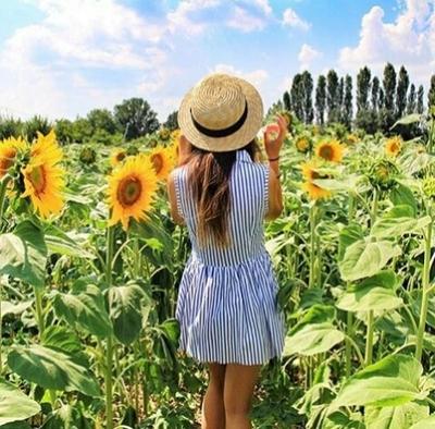 \夏本番っ!/ひまわりネイルで太陽が似合う、愛されサマーガール♡