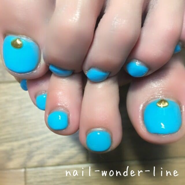 nail.wonder.lineさんのネイルデザインの写真。テーマは『ワン