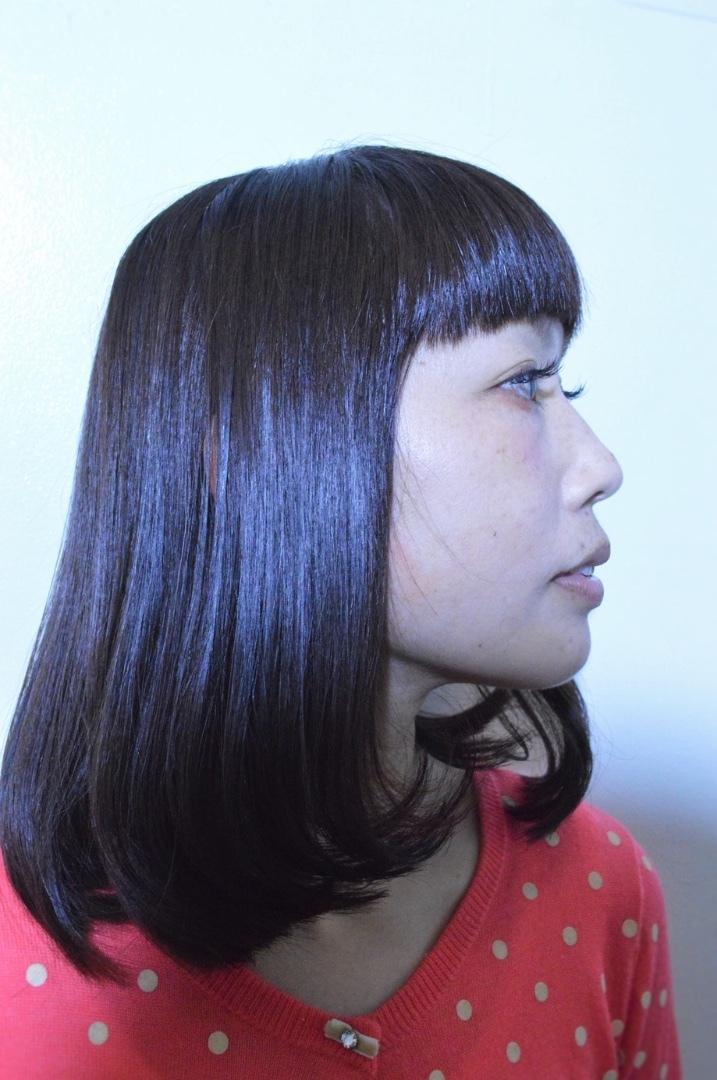 psinnerchildさんのヘアスタイルの写真。テーマは『エフォートレス、ストレート』