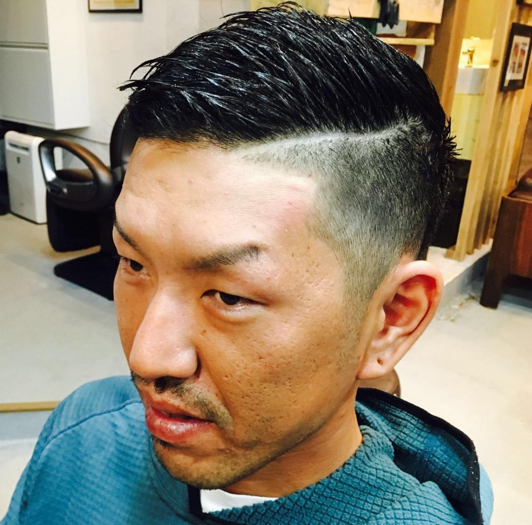 zyosehustepさんのヘアスタイルの写真。テーマは『メンズショート、刈上げ、モード、外国人風、男性ショート、メンズヘア、ボーイッシュ』