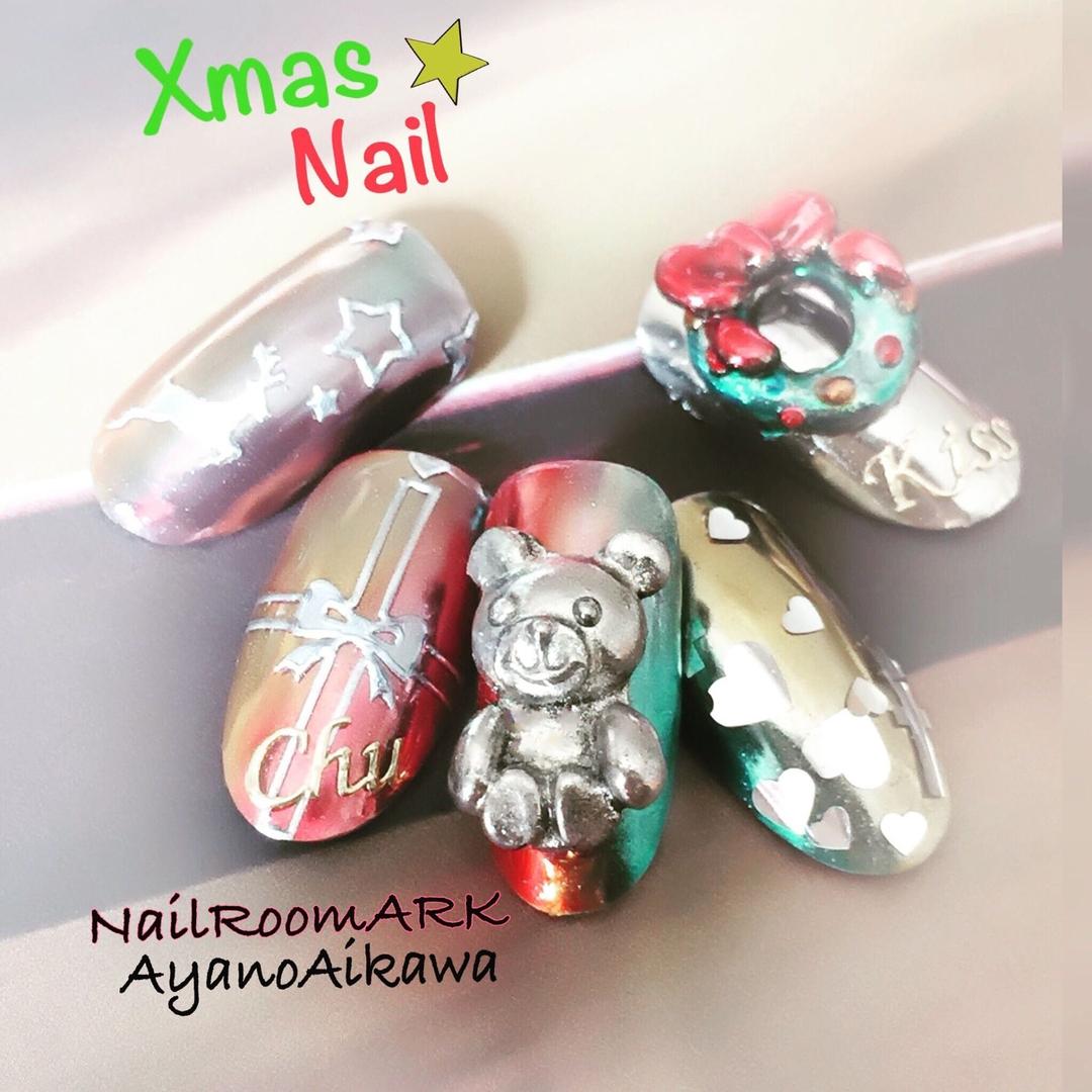 相川彩乃(NailRoomARK)さんのネイルデザインの写真。テーマは『nail2016w
