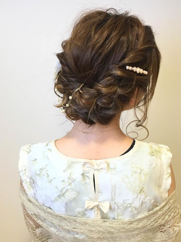 kannaさんのヘアスタイルの写真。テーマは『hair2016w、編み込み、ツイスト、ルーズ、ダウンスタイル』