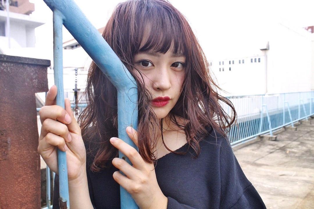 みなちゃんさんのヘアスタイルの写真。テーマは『hair2016w、福岡美容室、今泉美容室、mina_style、セミロング』