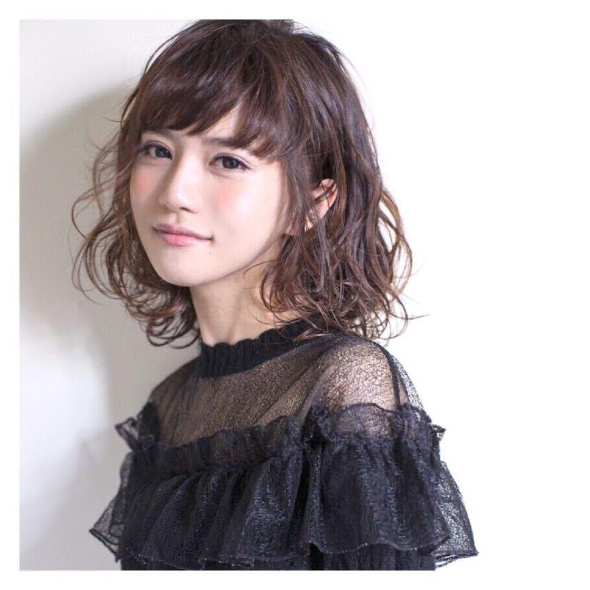 喜早純也さんのヘアスタイルの写真。テーマは『hair2016w、ボブ、パーマ、メディアム、外国人風』