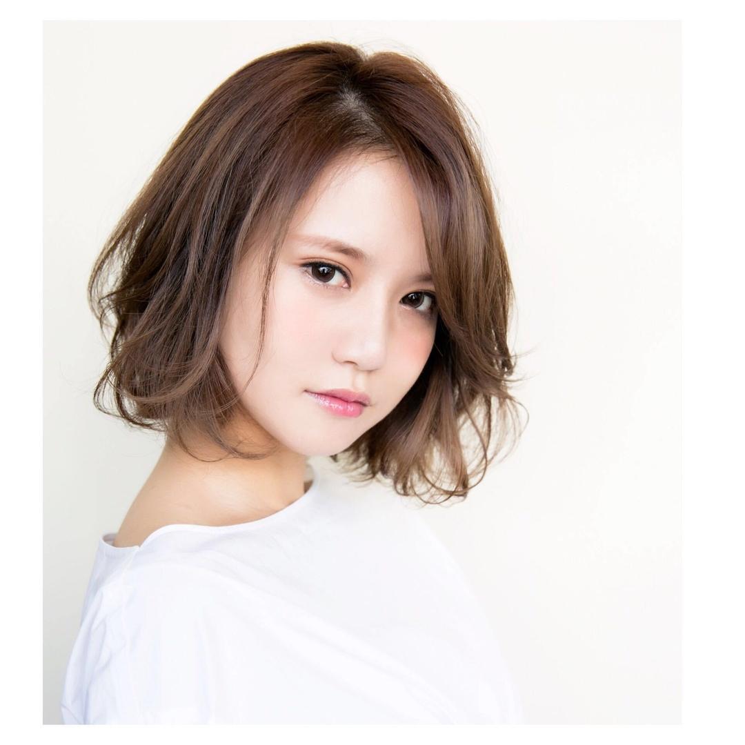 喜早純也さんのヘアスタイルの写真。テーマは『hair2016w、ボブ、パーマ』