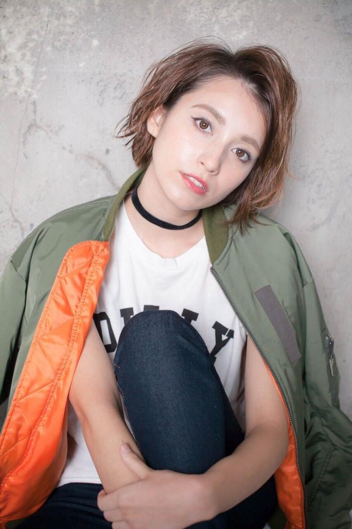 MINX青山 清水豊さんのヘアスタイルの写真。テーマは『hair2016w』