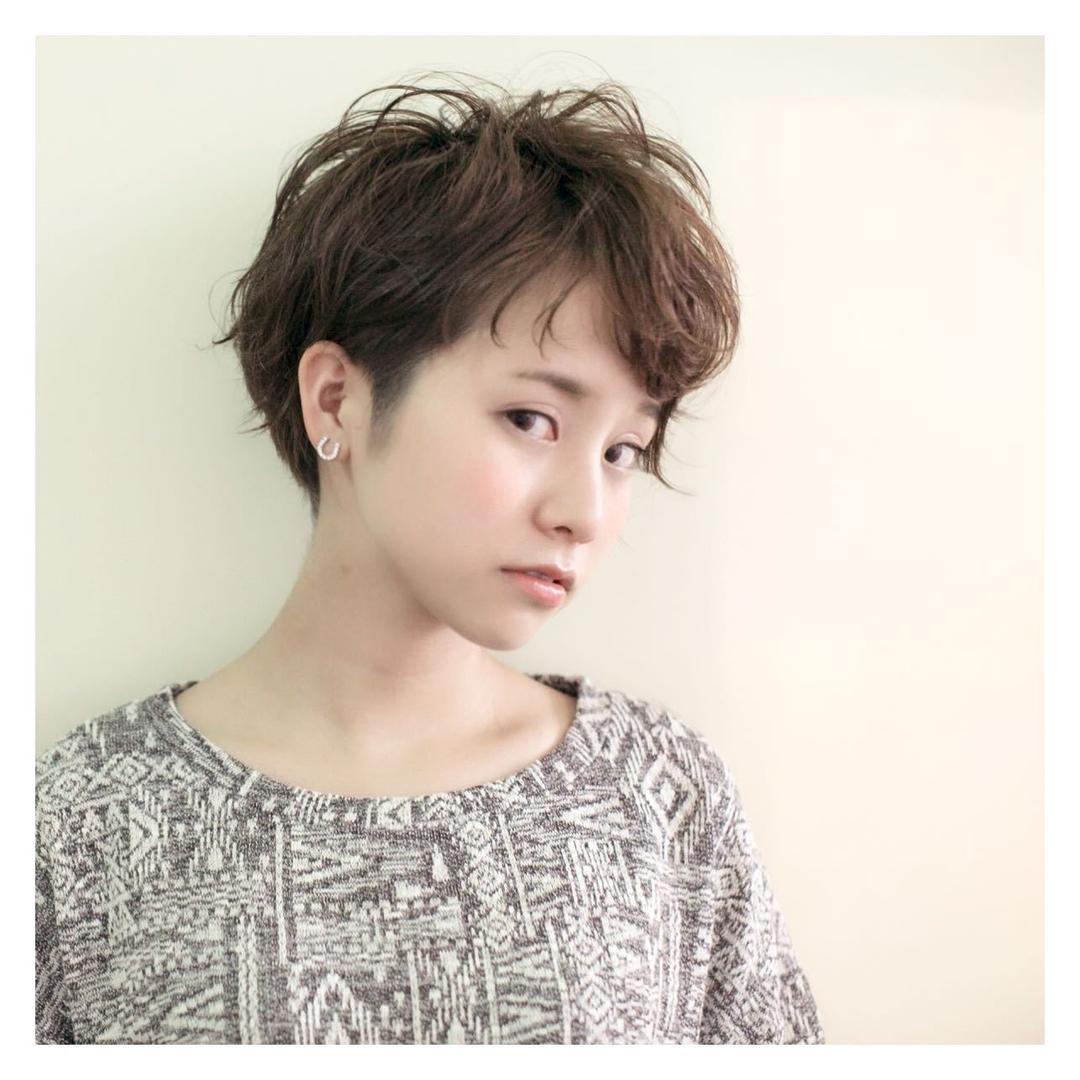 喜早純也さんのヘアスタイルの写真。テーマは『ショート、外国人風、小顔、hair2016w』
