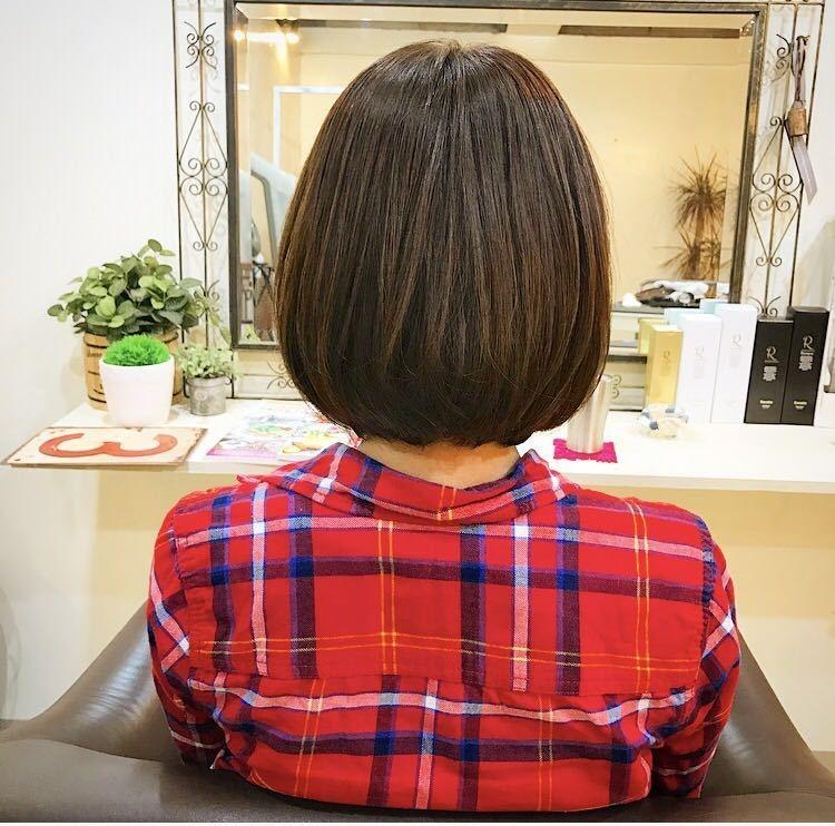 YUSUKE NAKAMURAさんのヘアスタイルの写真。テーマは『JUDY、ゆき風ぼぶ』