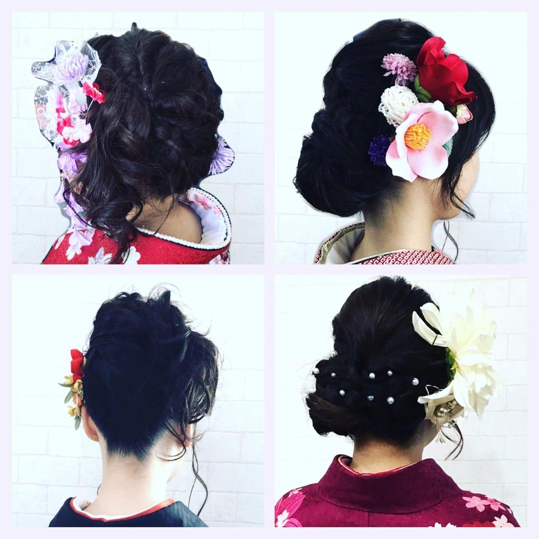 NON EDGE-苫小牧-さんのヘアスタイルの写真。テーマは『nonedge、成人式、成人式ヘア、新成人、苫小牧、苫小牧の美容室、和装、和装ヘア、成人式髪飾り、ヘアアレンジ、2017成人式、ヘアセット』