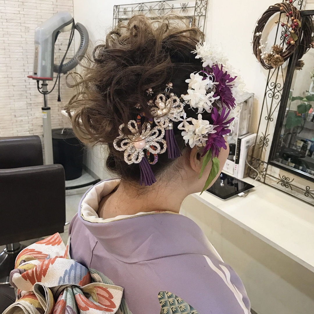YUSUKE NAKAMURAさんのヘアスタイルの写真。テーマは『成人式ヘア、成人式、成人式髪型』