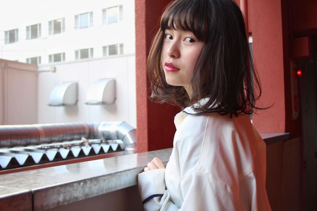 みなちゃんさんのヘアスタイルの写真。テーマは『mina_style、福岡美容室』