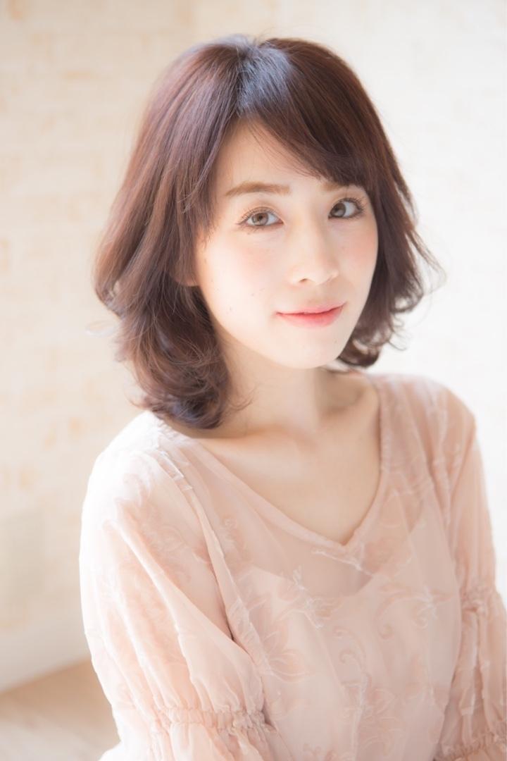 角 大輔さんのヘアスタイルの写真。テーマは『ミディアム、ヘア、福岡、天神、大名、LINKHAIRDESIGN』