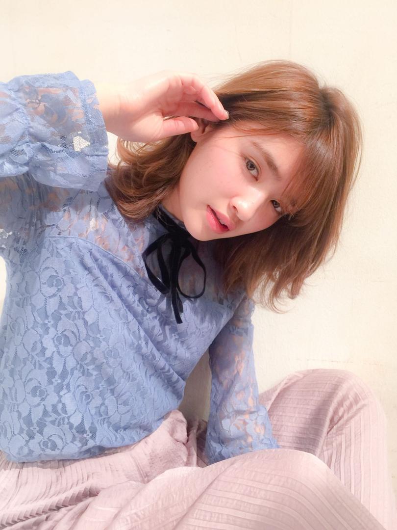 MINX青山 清水豊さんのヘアスタイルの写真。テーマは『ミディアム』