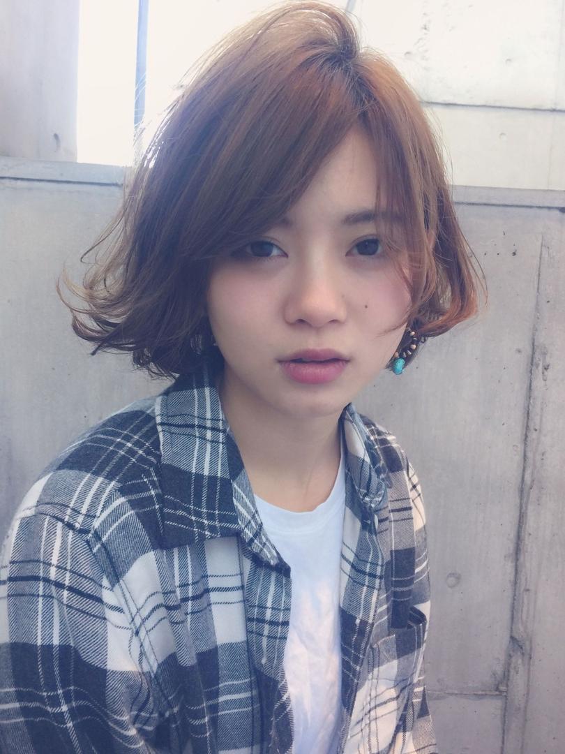 MINX青山 清水豊さんのヘアスタイルの写真。テーマは『ボブ』