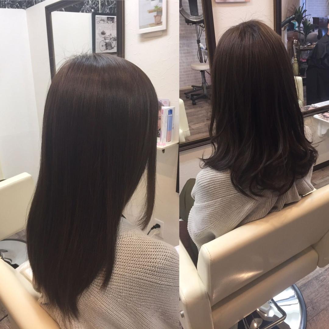 アンシェ美容室さんのヘアスタイルの写真。
