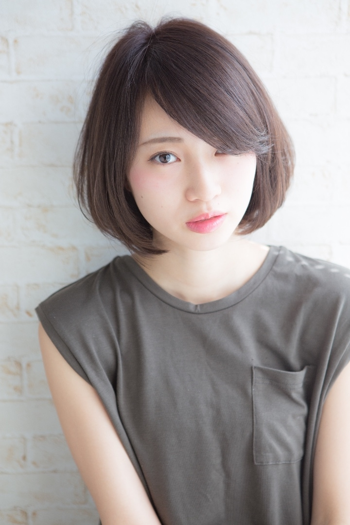 角 大輔さんのヘアスタイルの写真。テーマは『ショートボブ、ショート、カット、福岡、天神、大名、LINKHAIRDESIGN』