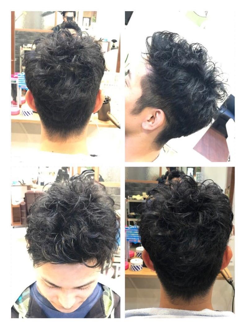 kousanさんのヘアスタイルの写真。テーマは『メンズ、メンズパーマ、メンズショート、ショート』
