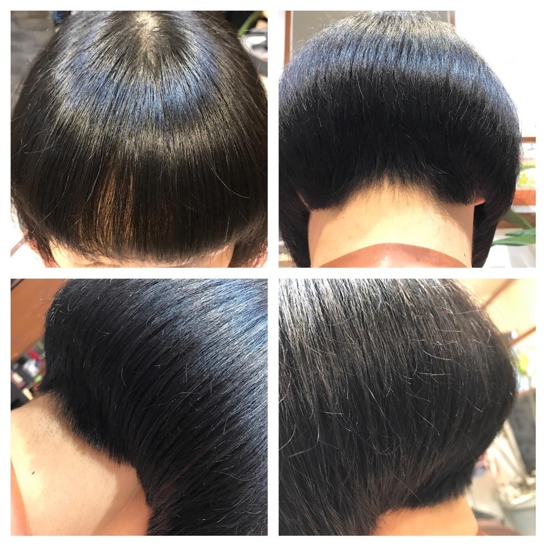 kousan45さんのヘアスタイルの写真。テーマは『大人ショートボブ、#ボブ、、大人ボブ』