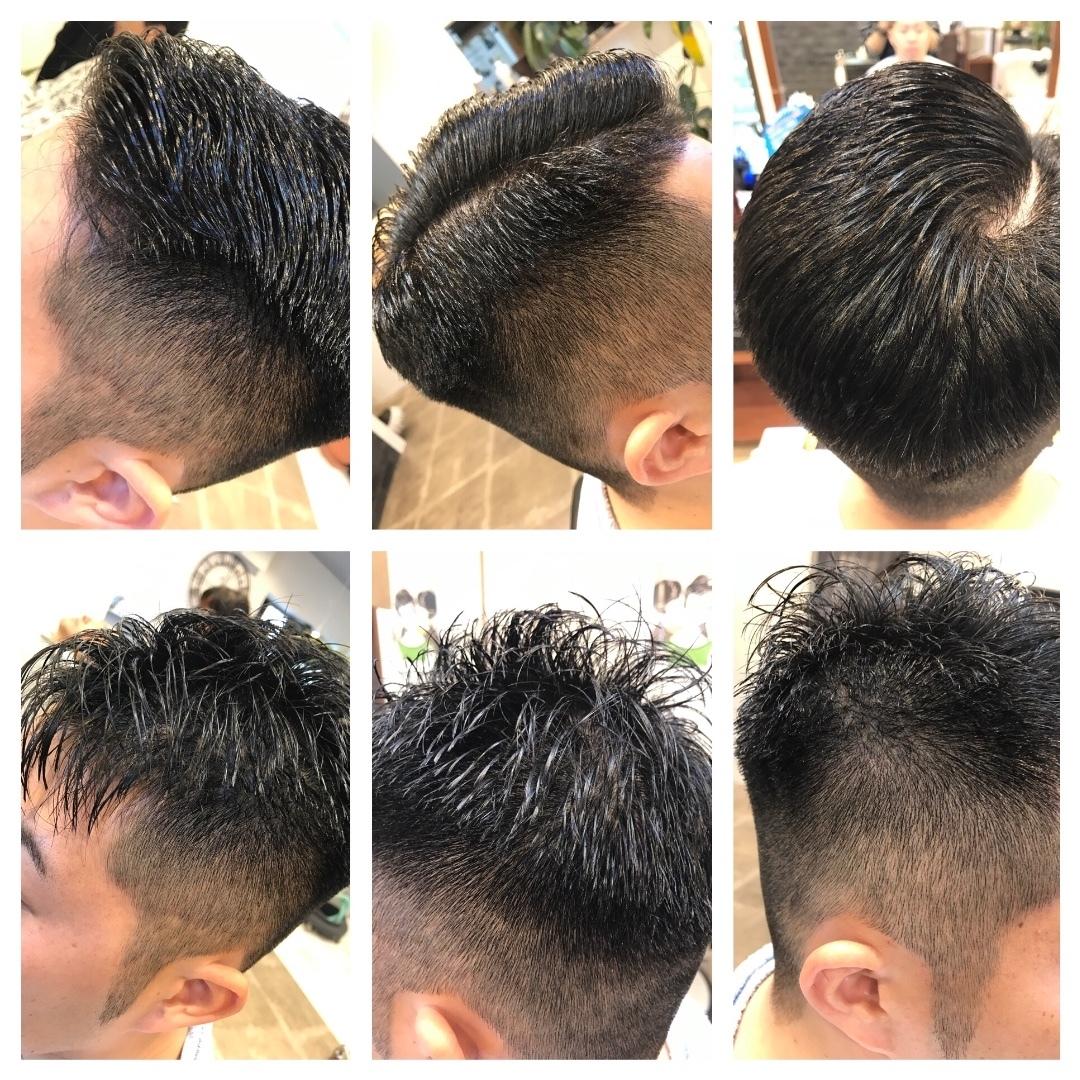 kousan45さんのヘアスタイルの写真。テーマは『クラッシック、#刈り上げ、、メンズ、、メンズショート』