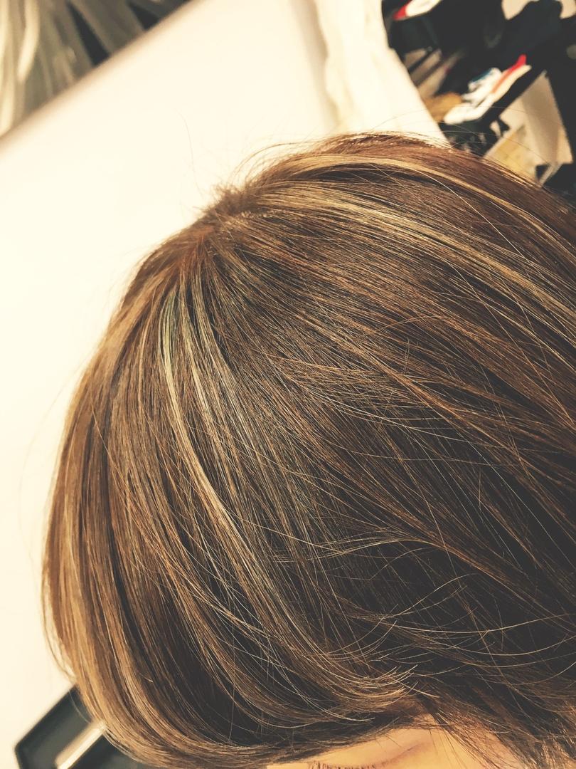 Hiroshiさんのヘアスタイルの写真。